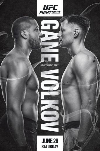Poster of UFC Fight Night 190: Gane vs. Volkov