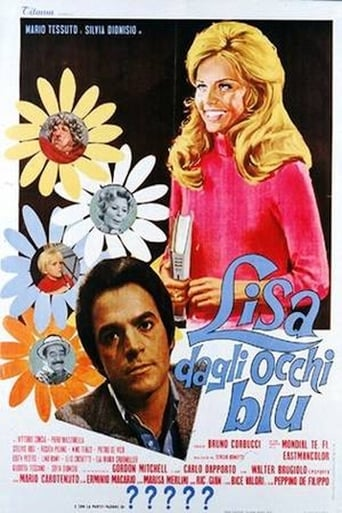 Poster of Lisa with the Blue Eyes