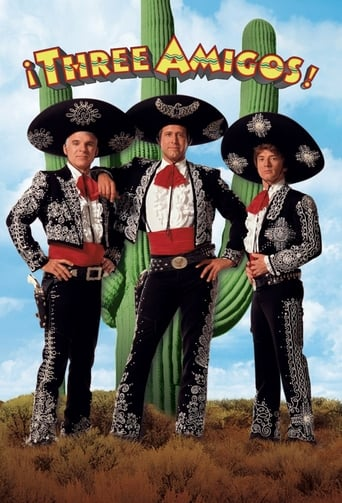 Poster of ¡Three Amigos!