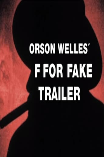Poster of F for Fake Trailer