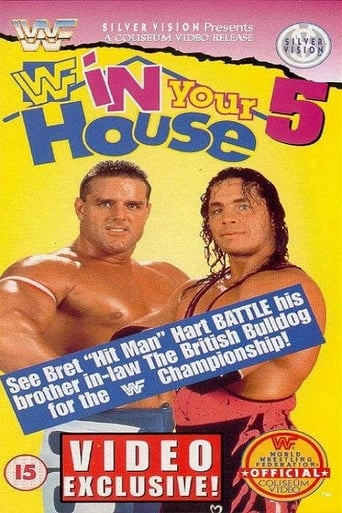 Poster of WWE In Your House 5: Seasons Beatings