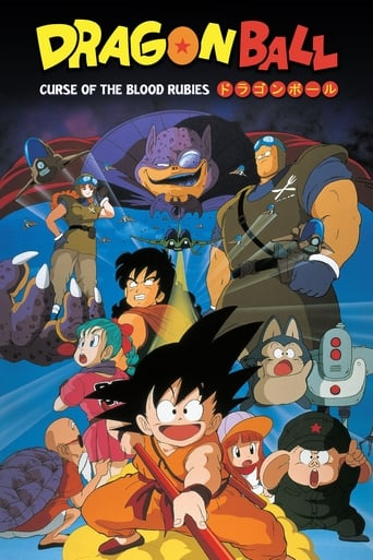 Poster of Dragon Ball: Curse of the Blood Rubies