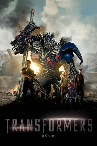 Poster of Transformers 4: Zánik