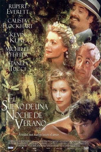 Poster of El sueño de una noche de verano, de William Shakespeare