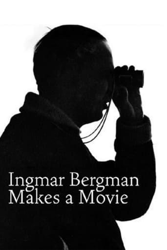 Poster of Ingmar Bergman Makes a Movie