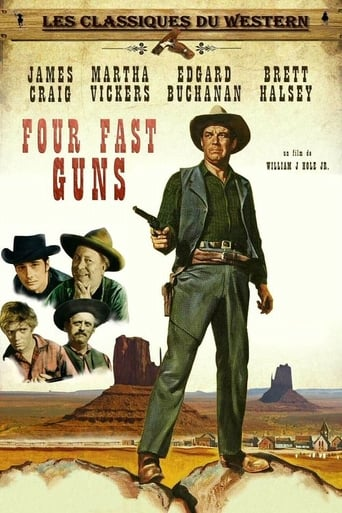 Poster of Four Fast Guns