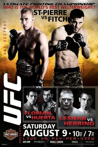 Poster of UFC 87: Seek and Destroy