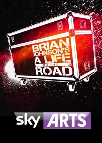 Poster of Brian Johnson's A Life on the Road