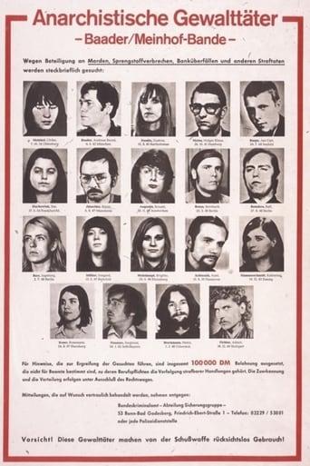 Poster of Baader-Meinhof Gang