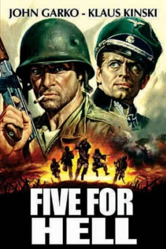 Poster of Five for Hell