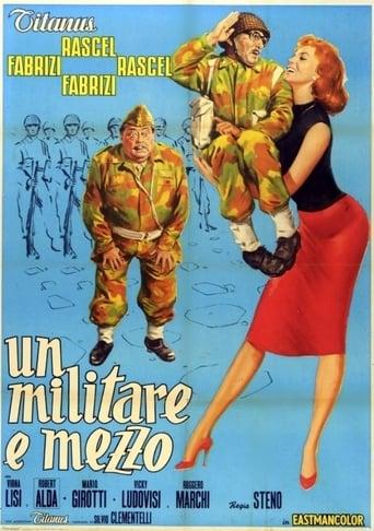 Poster of Un militare e mezzo