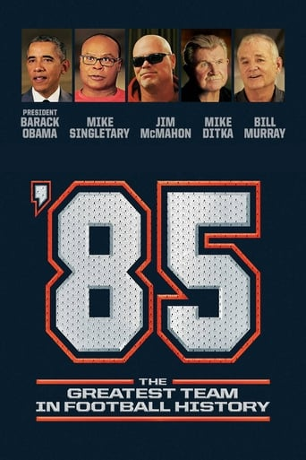 Poster of '85: The Greatest Team in Pro Football History