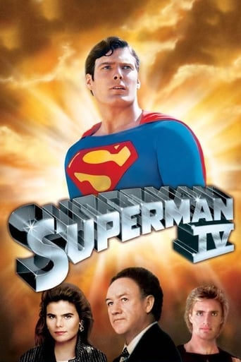 Poster of Superman IV: En busca de la paz