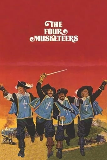 Poster of The Four Musketeers