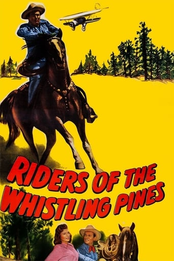 Poster of Riders of the Whistling Pines