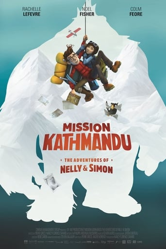 Poster of Mission Kathmandu: The Adventures of Nelly & Simon
