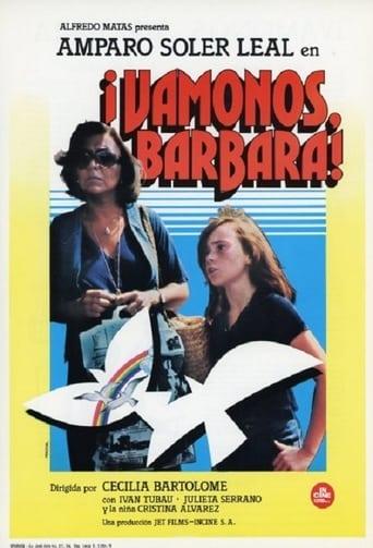 Poster of Vámonos, Bárbara