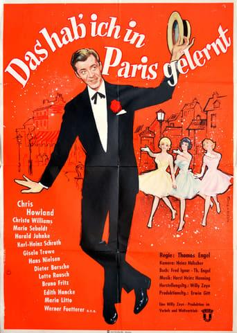 Poster of Das hab ich in Paris gelernt