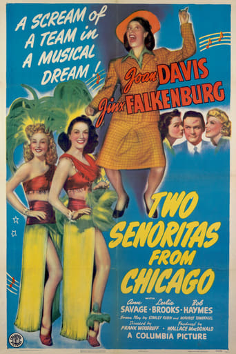 Poster of Two Señoritas from Chicago