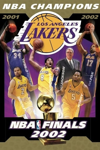 Poster of 2002 NBA Champions: Los Angeles Lakers