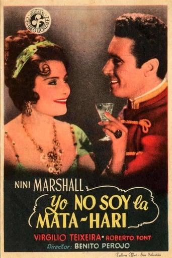 Poster of Yo no soy la Mata-Hari