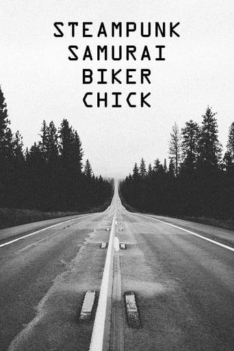 Poster of Steampunk Samurai Biker Chick