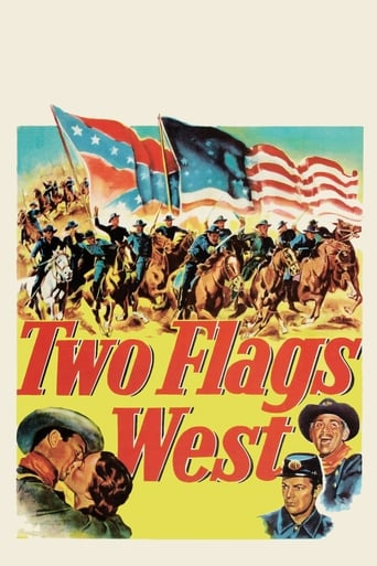 Poster of Two Flags West