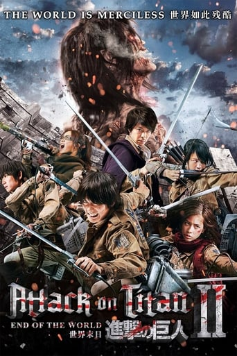 Poster of Attack on Titan II: End of the World