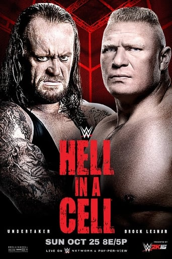 Poster of WWE Hell in a Cell 2015