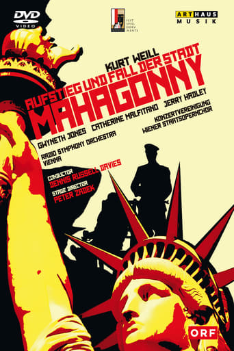 Poster of Aufstieg und Fall der Stadt Mahagonny