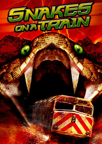Poster of Snakes on a Train