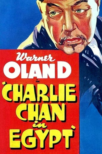 Poster of Charlie Chan in Egypt