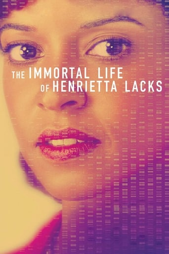 Poster of La vida inmortal de Henrietta Lacks