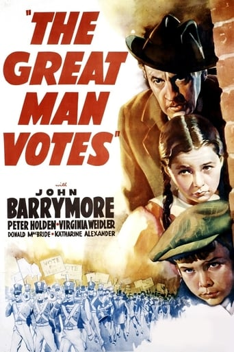 Poster of The Great Man Votes