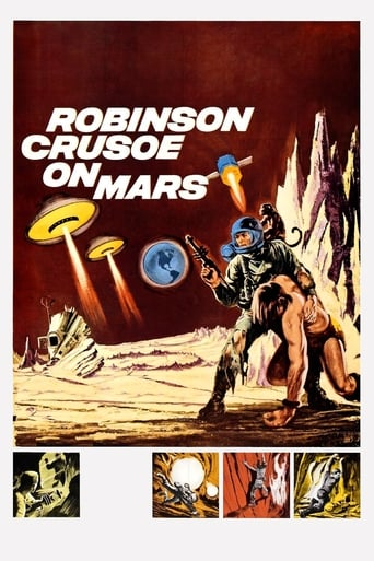 Poster of Robinson Crusoe on Mars