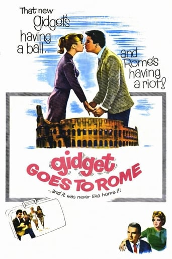 Poster of Gidget Goes to Rome