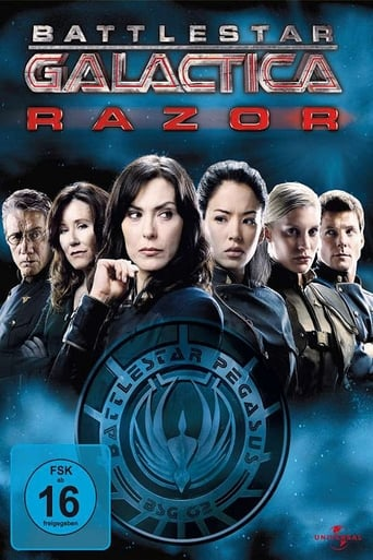 Poster of Battlestar Galactica: Razor Flashbacks
