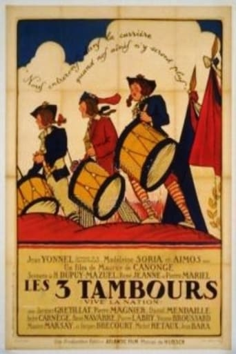 Poster of Les 3 tambours