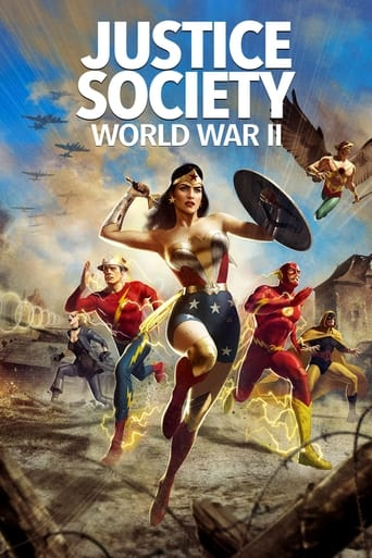 JUSTICE SOCIETY: WORLD WAR 2 (BLU-RAY)
