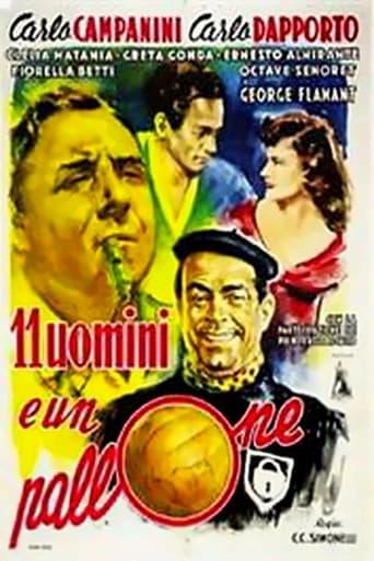 Poster of 11 uomini e un pallone