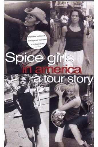 Poster of Spice Girls in America: A Tour Story
