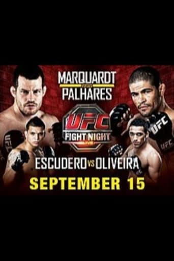Poster of UFC Fight Night 22: Marquardt vs. Palhares