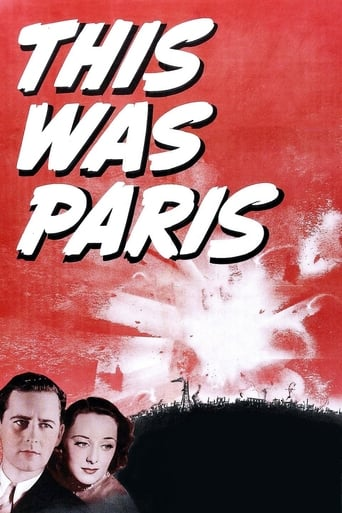 Poster of This Was Paris