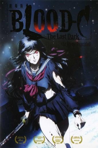 Poster of Blood-C: La última oscuridad