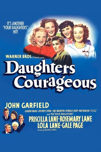 Poster of Daughters Courageous