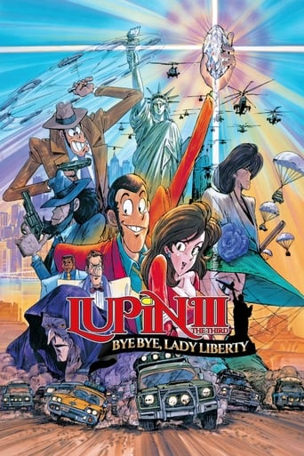 Poster of Lupin the Third: Bye Bye, Lady Liberty