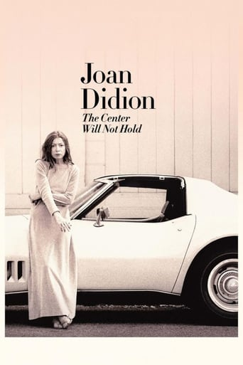 Poster of Joan Didion: The Center Will Not Hold