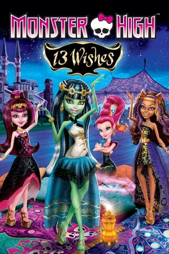 Poster of Monster High: 13 Wishes