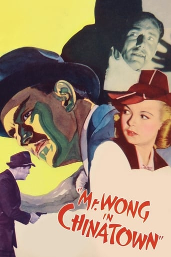 Poster of Mr. Wong in Chinatown