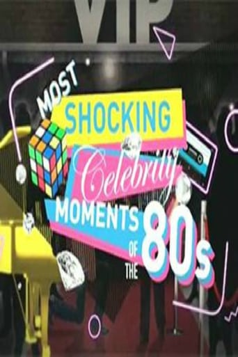 Poster of Most Shocking Celebrity Moments of the 80s